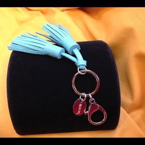 Tasseled Key Ring